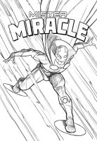 Mister Miracle by angryrooster