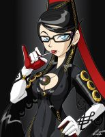 Bayonetta by rongs1234