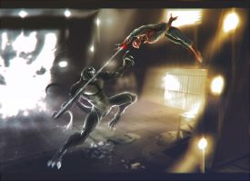 Amazing Spider-man by RIDDICKa