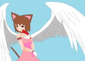 Me In Angel Form by LadyCatgirl
