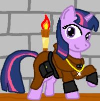 thief guild twilight sparkle by dutch-brony