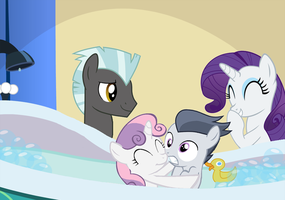 Bath Time by LunaticDawn