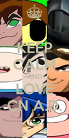 Keep Calm And Love CN Absolution Direction by ian2x4