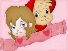 Alvin and Brittany by HeavenAndSky