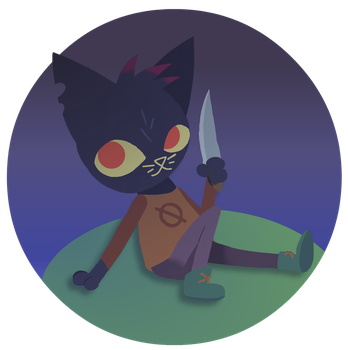 Mae I have this knife fight? by slickedbackArtisan