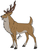 Grove the Stag by Little-Moose