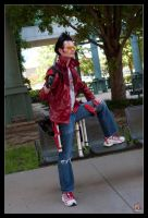 Travis Touchdown - Lord of the Sabers by Kuragiman