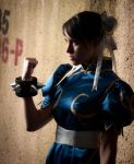 The First Female in Fighting Games! by honey----bunny