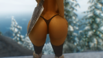 Dat Butt #9...Hears the tip and a spear behind it. by Toshihirohei