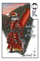 Gelidien - King of Fangs by Foshu