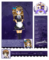 BA Maid/Butler Application: Hermione O'Riann by mikagamixkanji