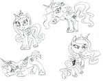 Daily Sketch - Pony chibis 2 by Jaestring