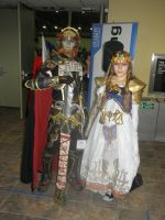 Otakon 2012 - Ganondorf and Zelda by mugiwaraJM
