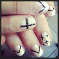 Date nails (08.10.13) by wittlecabbage