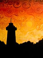 Swirling Lighthouse by Kimmie028