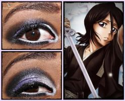 Eye Designs: Rukia Kuchiki by MakeupSiren