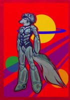 Space Wolf by soluble-hermit