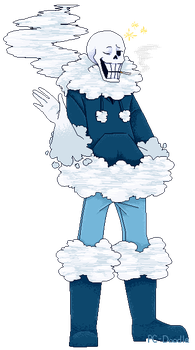 Art Trade: Underswap Skytale!Papyrus by PC-Doodle
