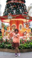 me with the carousel top tree by jubantaicho