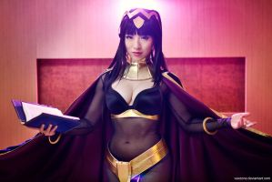 The Fire Emblem - Tharja by vaxzone