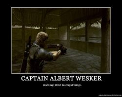 Don't Do Stupid Things by Captain-AlbertWesker