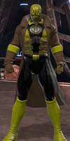 Scarecrow Sinestro Corps (DC Universe Online) by Macgyver75