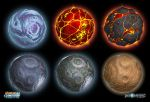 RCF2: Moons of Space by MeckanicalMind