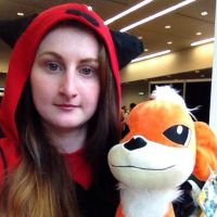 Magma Grunt ft. Growlithe Cosplay:. by Tebyx