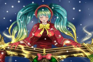 Silent Night Sona by Valyssa