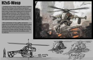 The H2xS Wasp Helicopter by JonathanP45