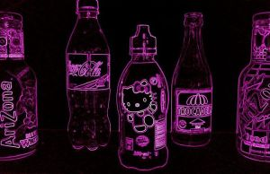 Wallpaper Hello Kitty Neon by MFSyRCM