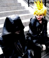 Xion and Roxas by rawien