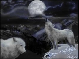 Moonlight Wolves by mustingel