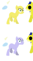 FNaF Collab!- My Little Pony by thequeenalien