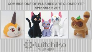 Commissions closed yet:::: I'll open in 2014 only by Witchiko