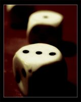 The dice is cast by vikingexposure