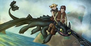 Request for Hiccup-Astrid by CavySpirit