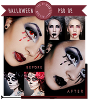 Dark PSD |Halloween 02| by Mjzo