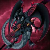 Red Eyes Black Sword Dragon by Malganis-Lefay