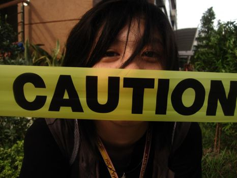 caution by falower