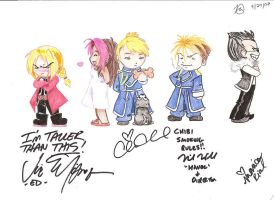 FMA - Autographs by guardian-of-moon