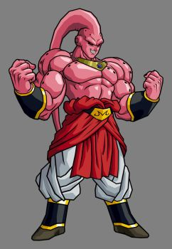 Super Buu - Broly Absorbed by hsvhrt