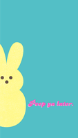 Easter Bunny Phone Background by SunnyFunLane