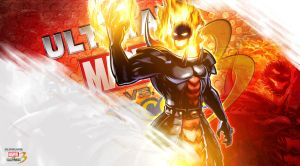 Ultimate marvel vs capcom 3 Dormammu Wallpaper by KaboXx