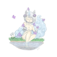 Little Floating Dreams by theamazingwrabbit