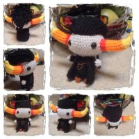 Chibi Tavros Plushie from Homestuck by Art-in-motion-1
