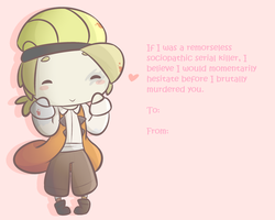 Is it Too Early for Valentine's Cards? by kinovity
