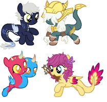 Random Adoptables #6 -CLOSED- by JenyTheAlicorn
