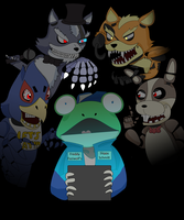 Five Nights 2: Star Fox by Psycho-Snail