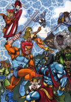Thundercats PSC Puzzle by Chris Foreman by chris-foreman